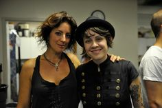 OMG I think I would have a heart attack. Sarah McLaughlan and Tegan (from Tegan and Sara. She's the cute twin)