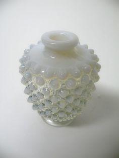 Fenton Perfume Bottle in French Opalescent