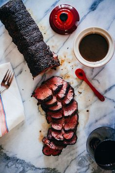 Coffee Crusted Beef Tenderloin with a Red Wine Jus - The Crepes of Wrath