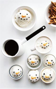 Snowman Affogato