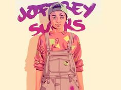 Illustrations: The Women of Game of Thrones Take on 80s/90s Style