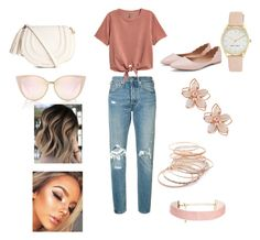 Casual pt.3 by pncuddihy on Polyvore featuring polyvore, fashion, style, H&M, Levi's, NAKAMOL, Nine West, Red Camel and clothing