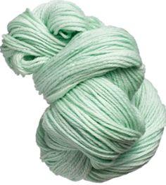 Color Verde Menta - Mint Green!!! Yarn