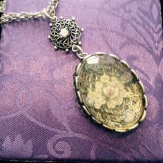 """Cookie Lee necklace Victorian Style cookie Lee necklace Victorian style double chain 14"""" long with a 3"""" long extension a beautiful rose in the middle piece new never been worn Cookie Lee Jewelry Necklaces"""