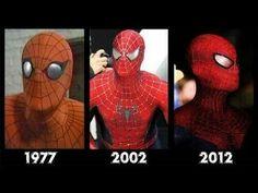 Spider-man All movies 1977, 2002, 2012- Spiderman- [Compilation movies]- El hombre araña. - YouTube