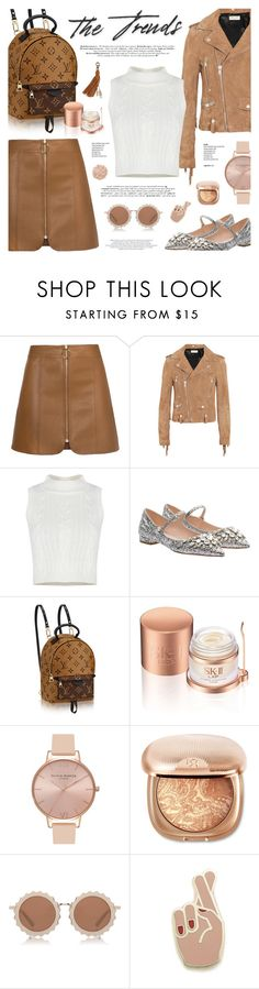 """""""I wish I can wear this today! Xoxo"""" by defivirda ❤ liked on Polyvore featuring Yves Saint Laurent, Miu Miu, SK-II, Olivia Burton, House of Holland, Georgia Perry and La Mer"""