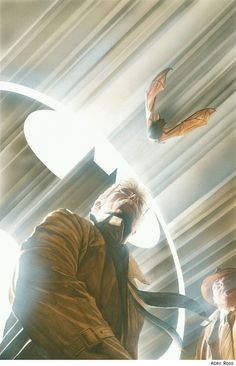 And because it's pretty rare you see stuff like this, Commissioner Gordon by Alex Ross.