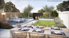 9 Beautiful Backyard Ideas for Small Yards – Garden Ideas 101 Modern Garden Design, Backyard Garden Design, Rooftop Garden, Backyard Designs, Backyard Ideas For Small Yards, Backyard Renovations, Outdoor Furniture Sets, Outdoor Decor, Contemporary Landscape