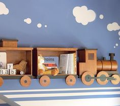 Train shelf- J would looooove this