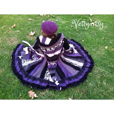 UpCycleD SwEaTeR CoAt/ Recycled clothing/ Carousel Coat/ Mystique/ Amethyst/ Black Pearl/ Ready to ship on Etsy, $365.00