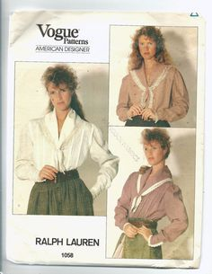 Uncut Misses size 14 Sewing Pattern Vogue 1058 by ItsSewVintage