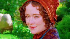 Jennifer Ehle as Lizzie Bennet, Pride and Prejudice 1995