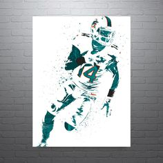 Jarvis Landry Miami Dolphins Poster