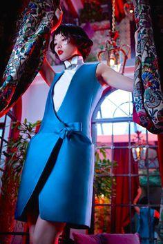 "thecultress: ""Li Xiao Xing for LOfficiel China Shoot by Michelle Du Xuan Found on fashiongonerogue.com """