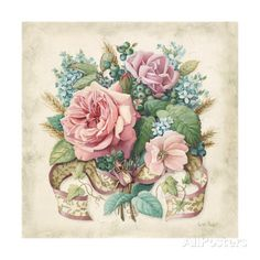 Roses Giclee Print by Lisa Audit at AllPosters.com