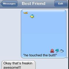 Hahahahaha Nemo!!
