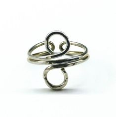 c693bc19ed7 Sterling Silver Adjustable Wire Wrap Finger Toe Ring