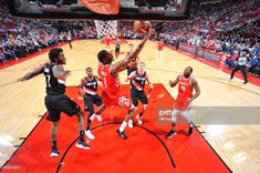 Trevor Ariza #1 of the Houston Rockets shoots a lay up against the Portland Trail Blazers on January 10, 2018 at the Toyota Center in Houston, Texas.