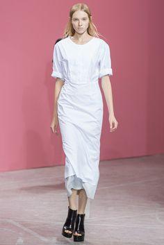 Theyskens' Theory Spring 2014 Ready-to-Wear Fashion Show - Nastya Zhidkikh