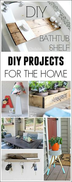 DIY HOME DECOR PROJECTS | Roundup via TheTurquoiseHome.com