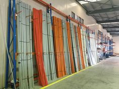 Cantilever Racking - For storing all those non-standard sized items vertically..