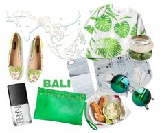 Summer Destination: Bali. The Green Simplicity clutch from BÙSTA -> http://bustabags.com/collections/clutch-bags/products/the-sporty-green-leather-clutch #busta #bustabags #leatherclutch #leather #streetstyle #green #embroidery #folklore #handmade #clutch