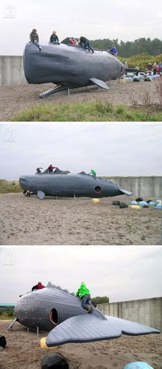 15 Amazing, Unique And Creative Playgrounds //A Sperm Whale