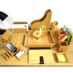 The Online Department Bamboo Office Supplies Furniture Home Kitchen Accessories Waterproof Bags Damascus Ceramic Knives