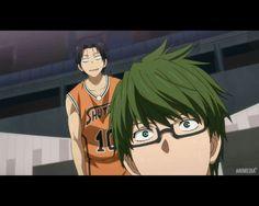 Midorima et Takao - Kuroko no basket