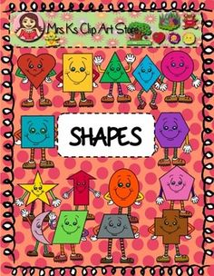 Enjoy these colorful animated shapes that can enhance any project for all ages. This package includes:2 hearts (color and black line)2 rectangles (color and black line)2 triangles (color and black line)2 squares (color and black line)2 hexagons (color and black line)2 stars (color and black line)2 pentagons (color and black line)2 ovals (color and black line)2 crosses (color and black line)2 circles (color and black line)2 parallelograms (color and black line)2 diamonds (color and black…