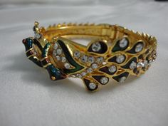 Minakari Art Peacock Bracelet