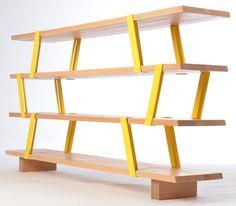 Montreal-based designer Olivier Desrochers created the Méo Shelf,