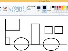 Great Fire Of London, The Great Fire, Microsoft Paint, Shorts Tutorial, Color Shapes, Teaching Resources, Outline, Colours, Year 2