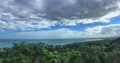 Destinos de mi República Dominicana. Vista Panoramica de la Bahia de Cosón, Las Terrenas, Península de Samaná... Hermoso, verdad?