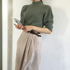 korean fashion aesthetic outfits soft kfashion ulzzang girl 얼짱 casual clothes grunge minimalistic cute kawaii comfy formal everyday street spring summer autumn winter g e o r g i a n a : c l o t h e s Look Fashion, Retro Fashion, Korean Fashion, Fashion Beauty, Womens Fashion, Mode Outfits, Fashion Outfits, Fashion Trends, Illustration Mode