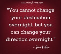 You can choose a new beginning at any moment.  The process takes time, the choice is instantaneous!