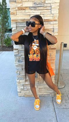 Boujee Outfits, Baddie Outfits Casual, Swag Outfits For Girls, Teenage Girl Outfits, Girls Summer Outfits, Cute Swag Outfits, Cute Comfy Outfits, Dope Outfits, Teen Fashion Outfits