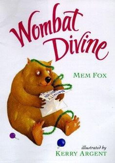 Wombat Divine by Mem Fox is a wonderful Christmas book AND a great book to talk about our gifts and calling.
