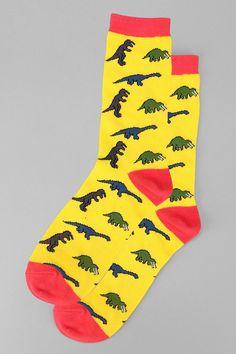Dinosaurs Sock #UrbanOutfitters