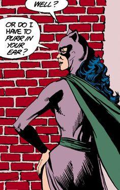 Catwoman And Batman: A Town On The Night from Batman 392 1986-02