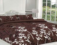 Kaylee Floral Duvet Quilt Cover Bedding Set | Brown — Linens Range