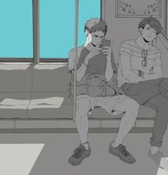 Is it weird? Whenever I cool down after fangirling to iwaoi, I think about how nice it must be to have someone like that too
