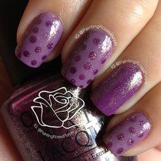 #purplenailsforboston  by  paintingrosespurple  #nail #nails #nailart