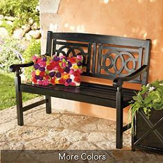 Front Porch Bench Love The Detail Furniture Outdoor Home