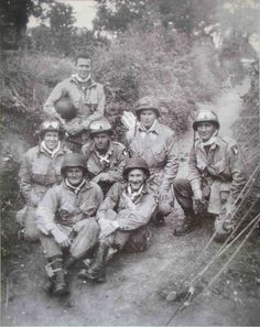 1st Squadron, 3rd platoon, Company F. 7 or 8 June 1944, Normandy