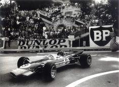 Graham Hill's Lotus49B at the 1968 Monaco Grand Prix