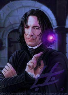 """Dᴏɴ'ᴛ. Lɪᴇ. Tᴏ ᴍᴇ."", severus-snape-my-eternal-prince:     Let me..."