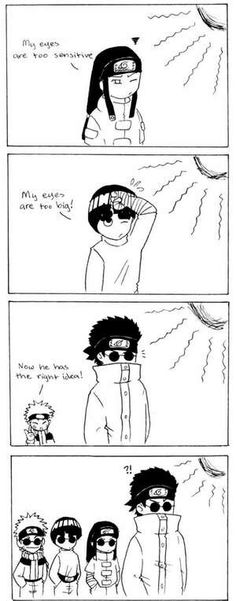 Look's like Shino is a trendsetter...