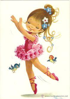 Dibujos de bailarinas niña niña - Imagui