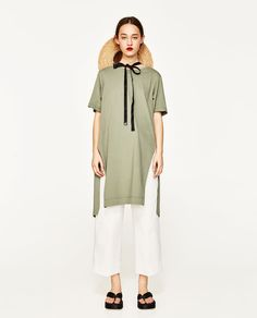 TUNIC WITH OPEN BACK-NEW IN-WOMAN | ZARA United States